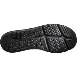 Zapatillas Caminar Newfell PW 580 Impermeables Mujer Negro