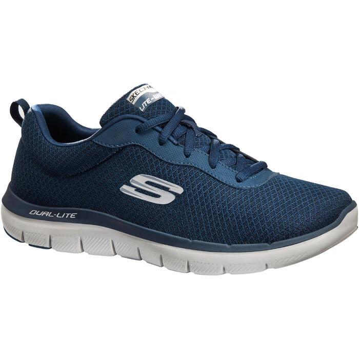 6e2290049f5f0 Zapatillas de marcha deportiva hombre Dual Lite azules Skechers ...