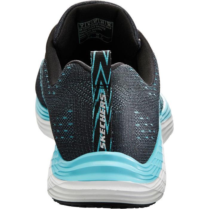 Damessneakers voor sportief wandelen Valeris zwart/turquoise - 1261085
