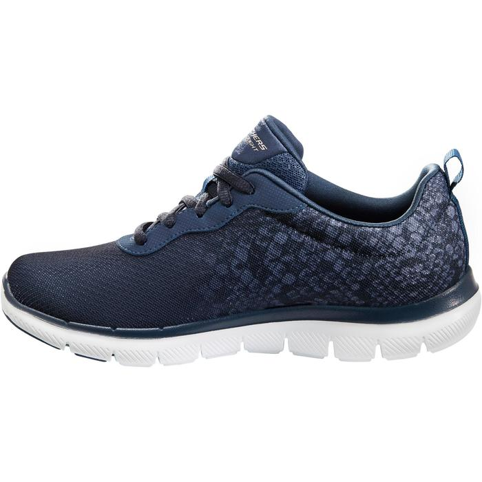 Chaussures marche sportive femme Flex Dual Lite bleu - 1261090