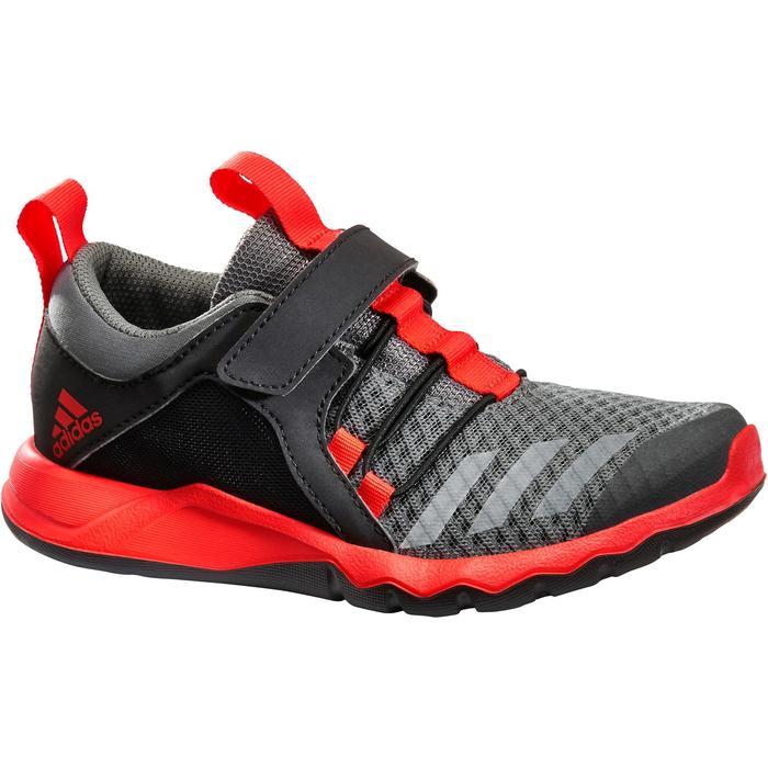 Chaussures marche sportive enfant Rapida Flex2 noir / rouge - 1261100