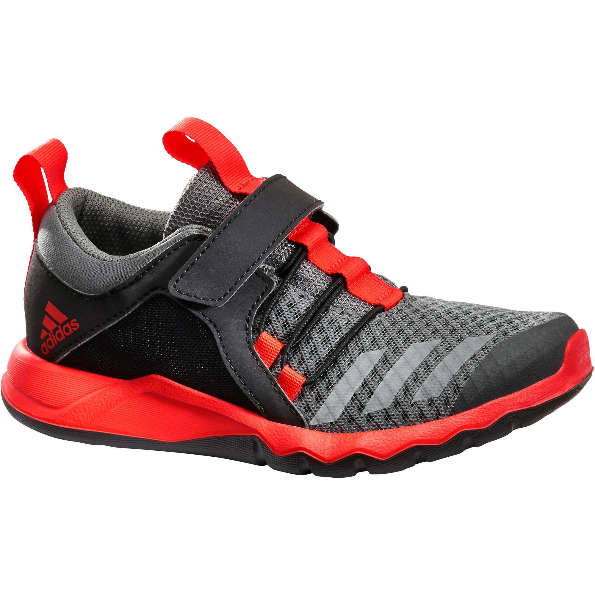 Adidas Kindersneakers Rapida Flex2 zwart-rood