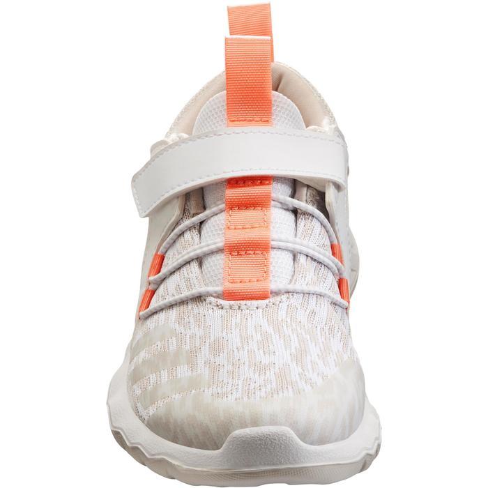 Chaussures marche sportive enfant Rapida Flex2 blanc / rose - 1261103