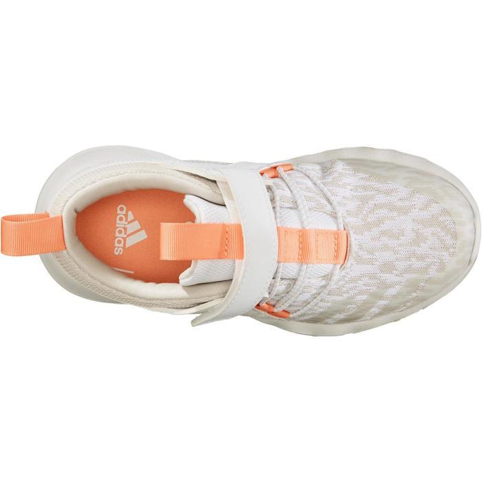 Chaussures marche sportive enfant Rapida Flex2 blanc / rose - 1261108