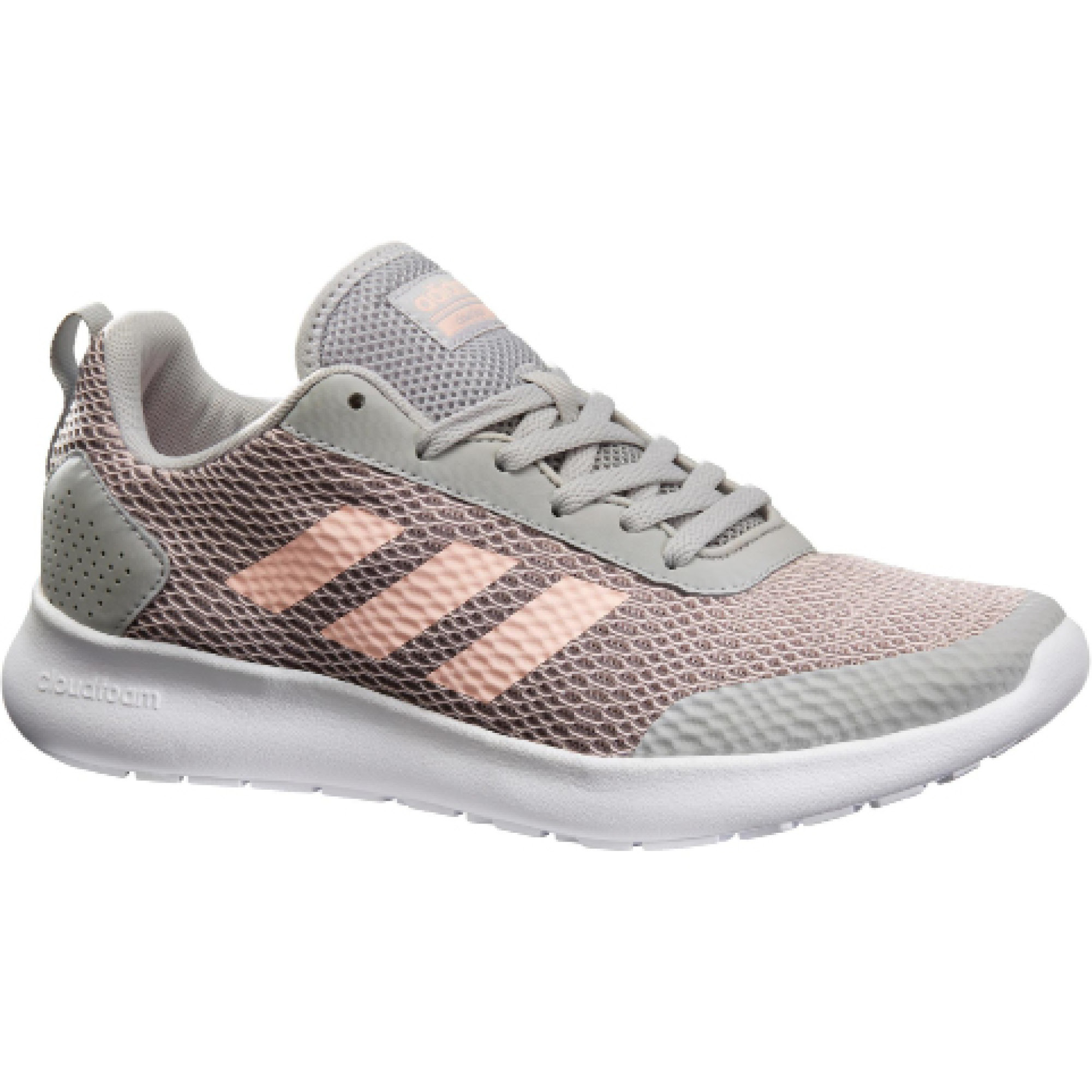 Adidas Damessneakers CF Element Race grijs-roze