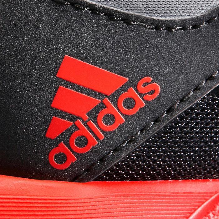 Chaussures marche sportive enfant Rapida Flex2 noir / rouge