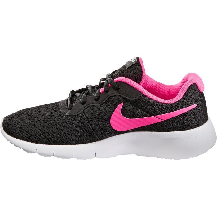 Chaussures marche sportive enfant Tanjun noir / rose - 1261140