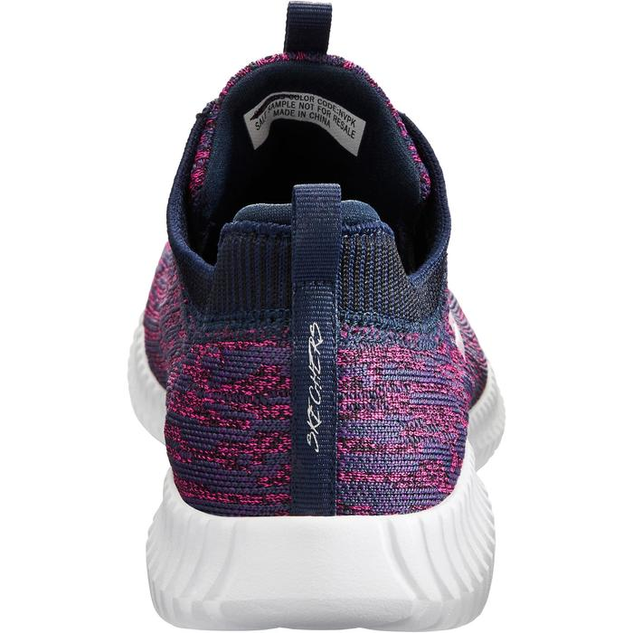 Chaussures marche sportive femme Slip-On bleu / rose