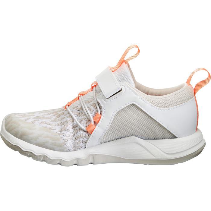 Chaussures marche sportive enfant Rapida Flex2 blanc / rose - 1261158