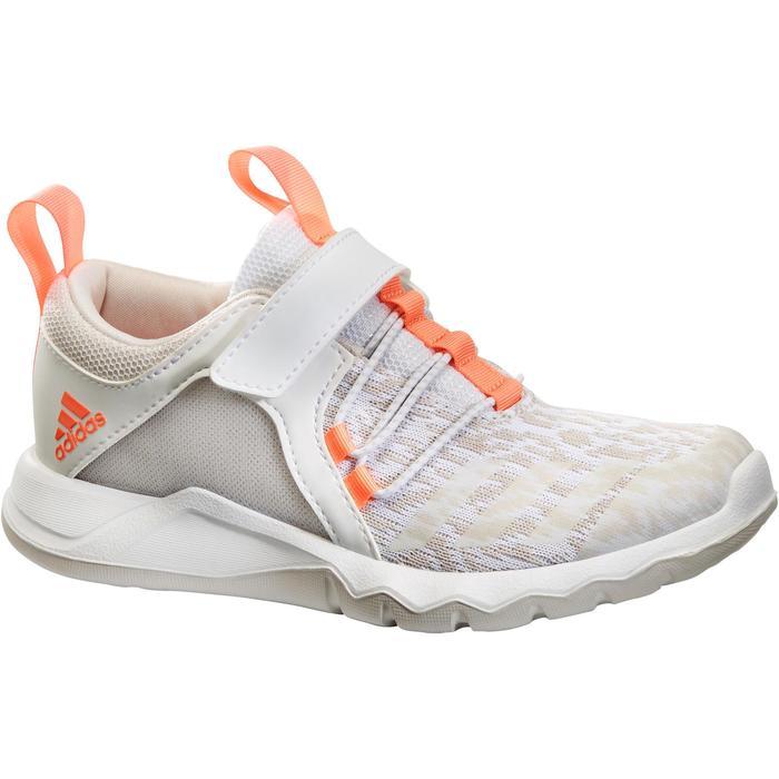 Chaussures marche sportive enfant Rapida Flex2 blanc / rose