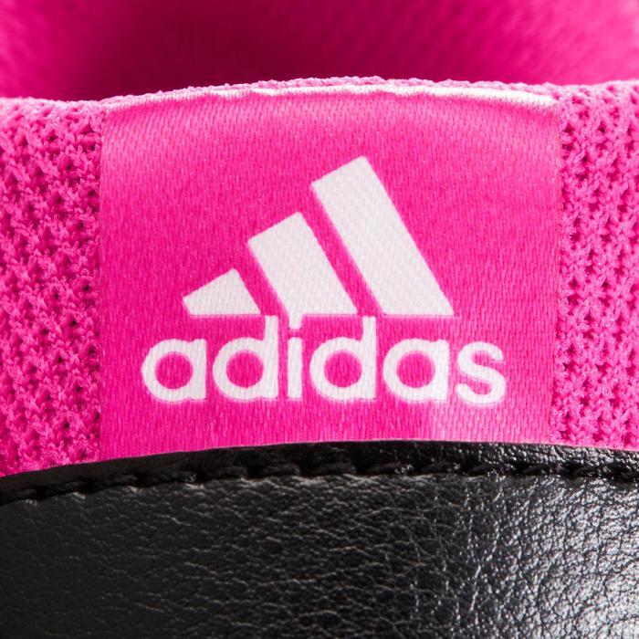 Chaussures marche sportive enfant Fastwalk2 Scratch noir / rose - 1261166