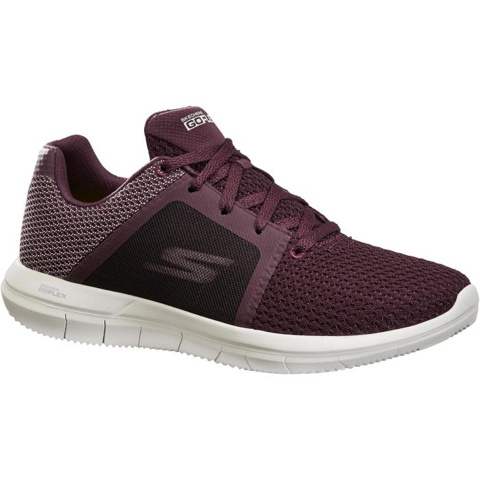 Chaussures marche sportive femme Go Flex prune - 1261170