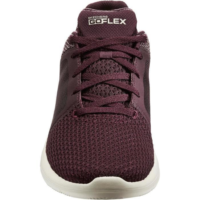 Chaussures marche sportive femme Go Flex prune - 1261171