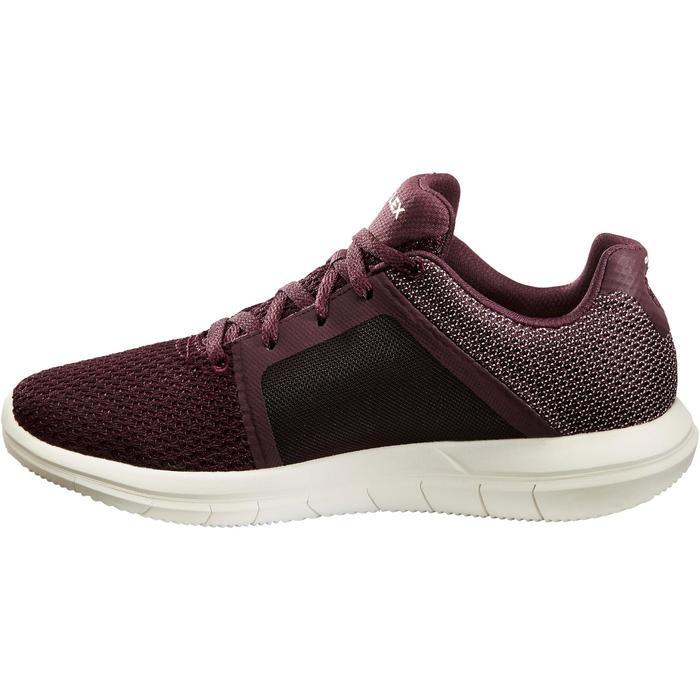 Chaussures marche sportive femme Go Flex prune - 1261179