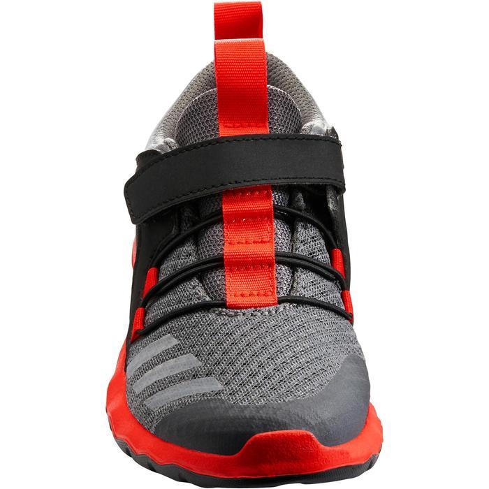 Chaussures marche sportive enfant Rapida Flex2 noir / rouge - 1261182