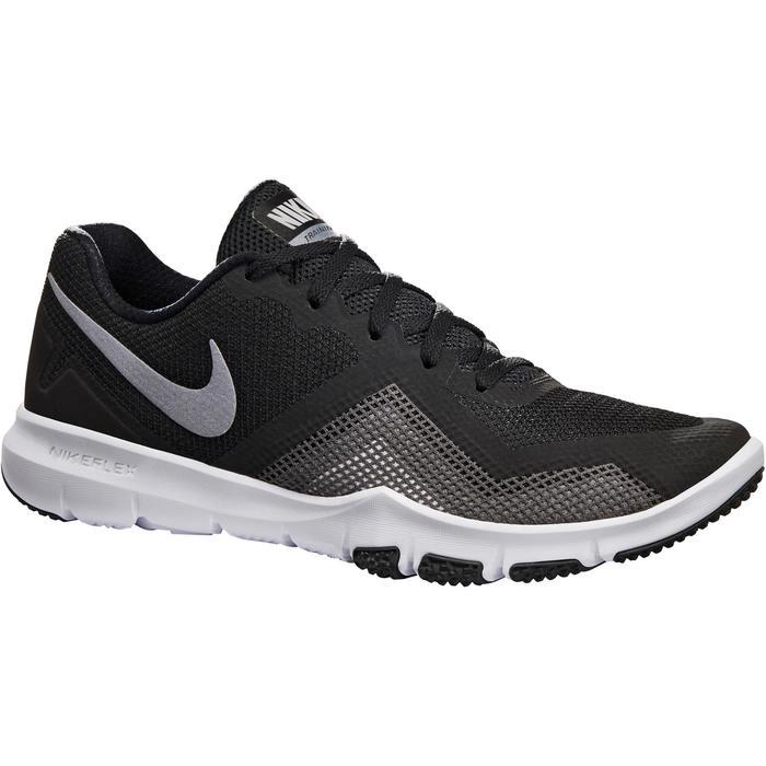 Chaussures marche sportive homme Flex Control noir - 1261183
