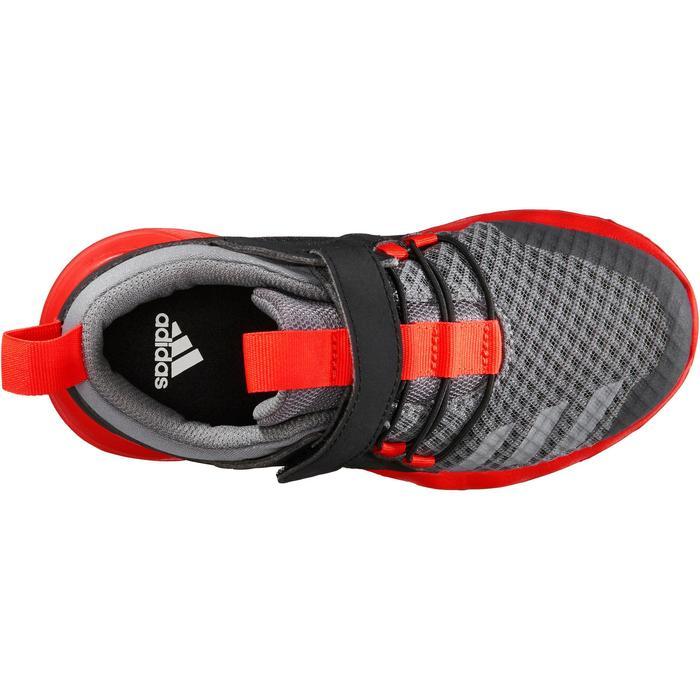 Chaussures marche sportive enfant Rapida Flex2 noir / rouge - 1261189
