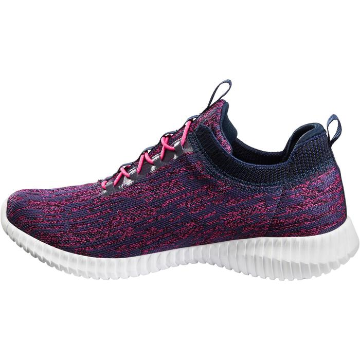 Chaussures marche sportive femme Slip-On bleu / rose - 1261190