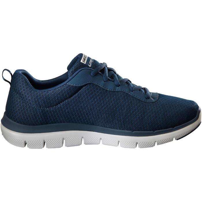 Herensneakers voor sportief wandelen Skechers Dual Lite blauw