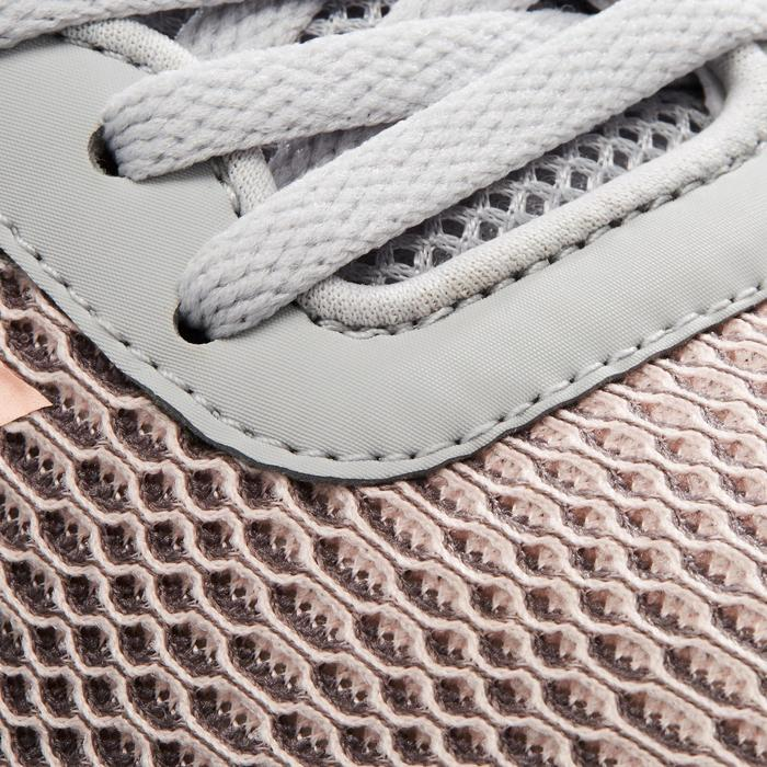 Chaussures marche sportive femme CF Element Race gris / rose - 1261193