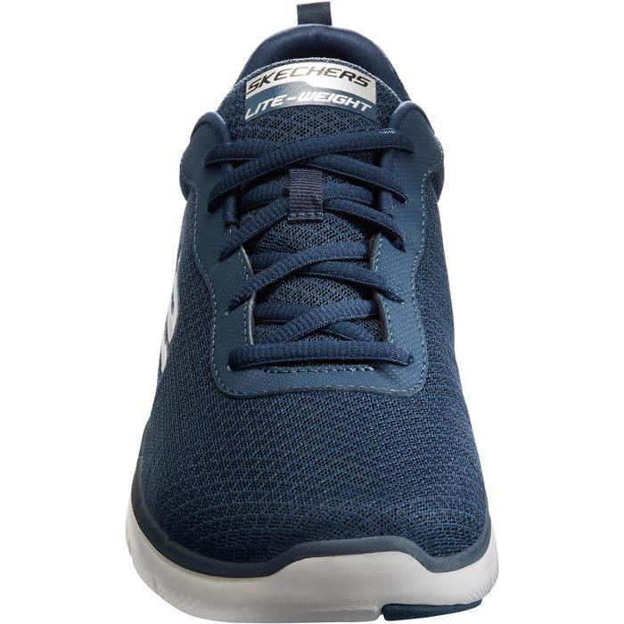 Herensneakers voor sportief wandelen Dual Lite blauw
