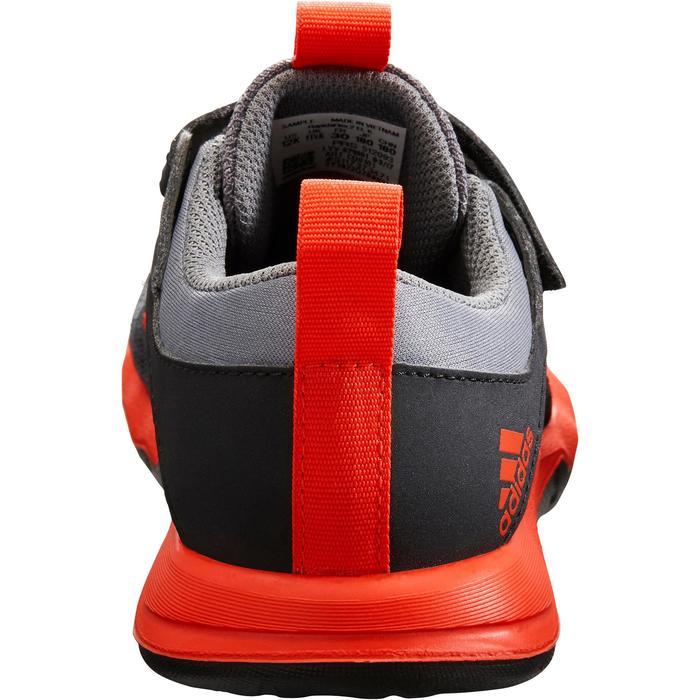 Chaussures marche sportive enfant Rapida Flex2 noir / rouge - 1261205