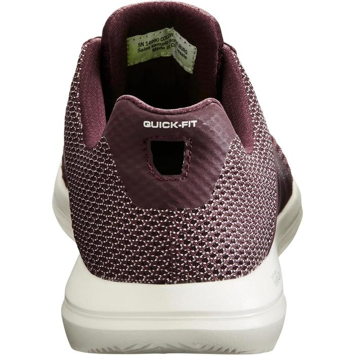 Chaussures marche sportive femme Go Flex prune - 1261212