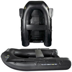 Rubberboot Black Boat One 180 voor karpervissen