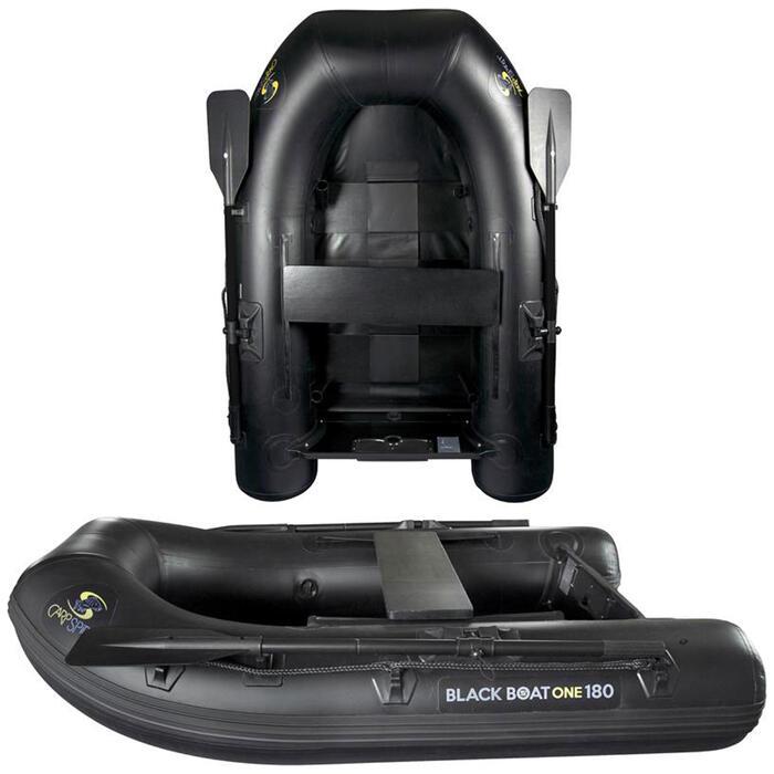 Rubberboot Black Boat One 180 voor karpervissen
