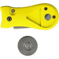 Automatische pitchfork geel