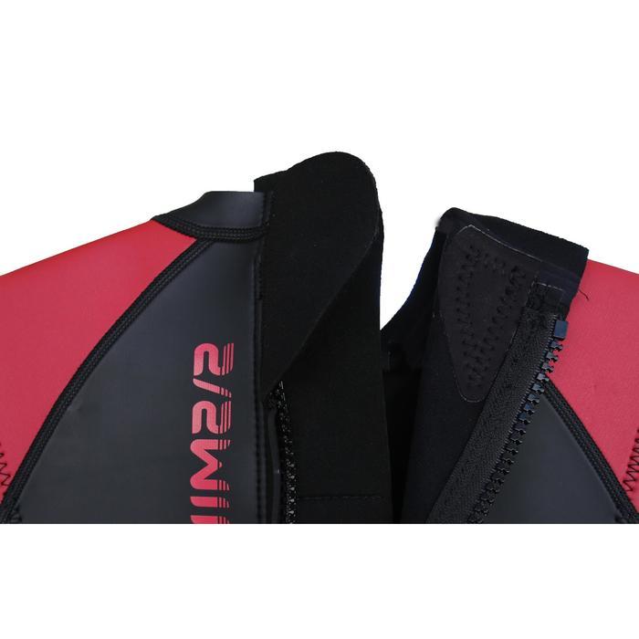 Traje de natación sin mangas neopreno OWS 500 2,5/2 mm hombre aguas templadas
