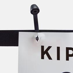 Cinturón Portadorsal Running Kalenji Negro Ligero Ajustable