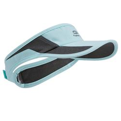 ADJUSTABLE RUNNING VISOR BLACK 55-63 cm