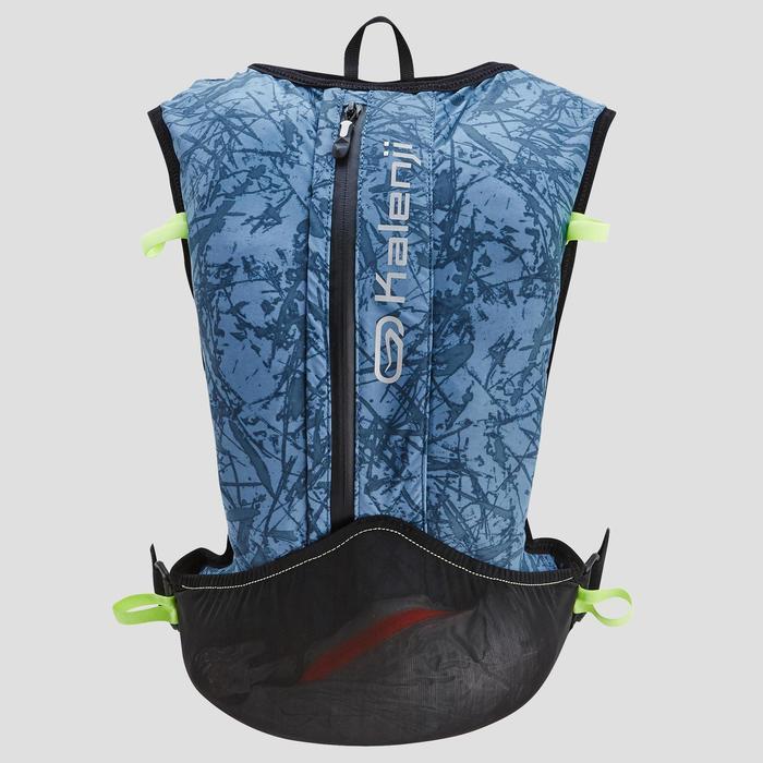 Trailrugzak uniseks 10 liter blauw