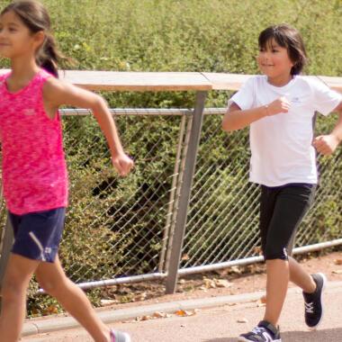 marche sportive pour les enfants