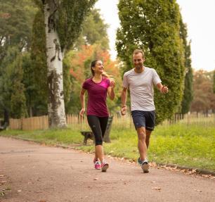 caminhada desportiva prática regular