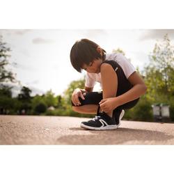 Kindersneakers voor wandelen PW 100 zwart / wit