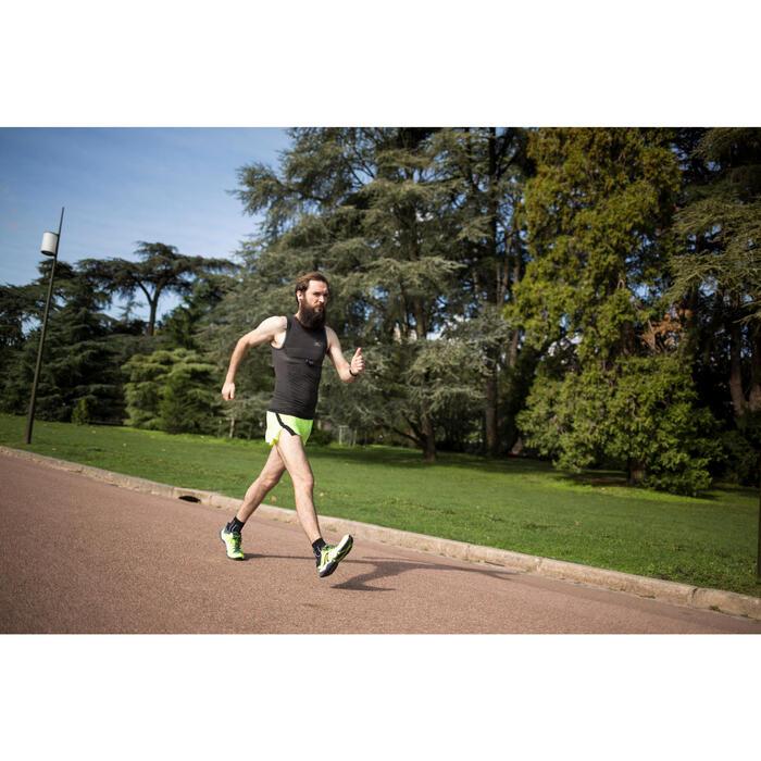 Zapatillas marcha deportiva/atlética hombre PW 900 Propulse Motion amarillo fluo