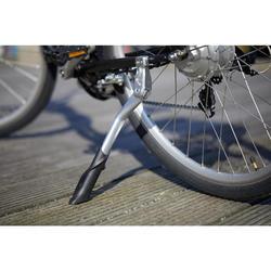 Elektrische fiets / E-bike dames Elops 500 E stadsfiets laag frame zwart