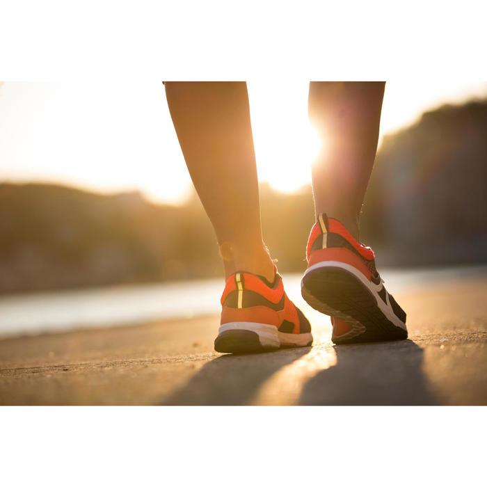 Walkingschuhe athletisches Gehen PW 240 Damen lila/rosa