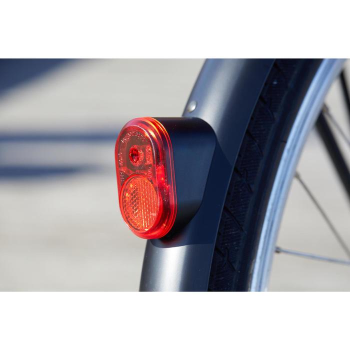 "E-Bike City Bike 28"" Elops 500E LF tiefer Einstieg schwarz"