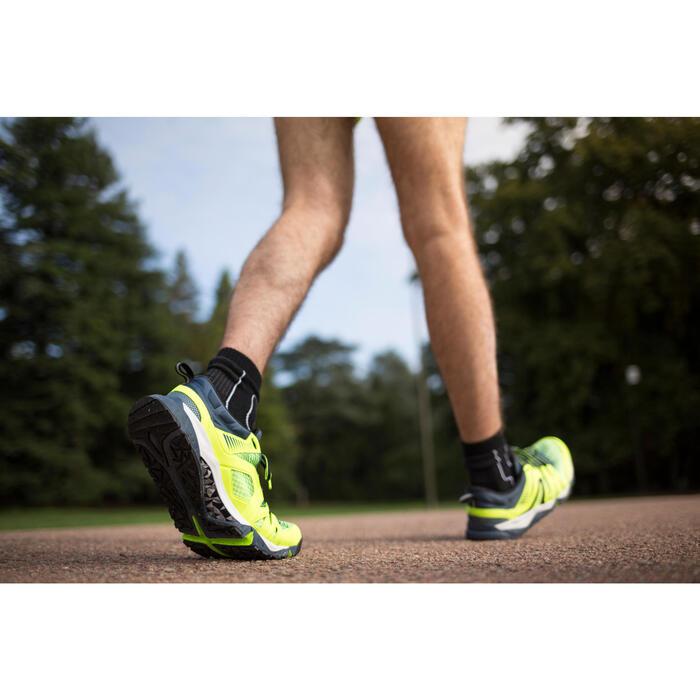 Chaussures marche sportive/athlétique homme PW 900 Propulse Motion jaune fluo - 1261753