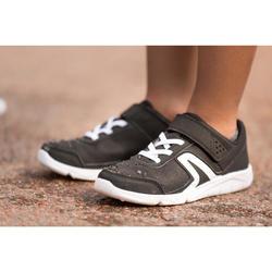 Zapatillas Caminar Newfeel PW 100 Niños Negro/Blanco