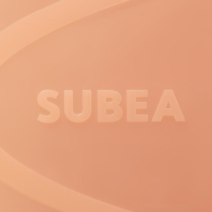 Schnorchelflossen SNK 500 Erwachsene hellrot/rosa