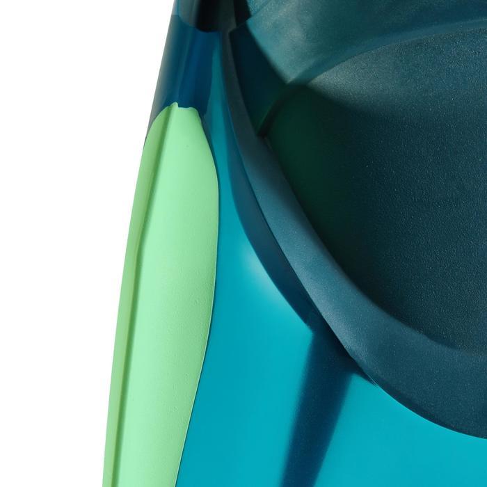 Palmes de snorkeling ou de plongée bouteille SNK 540 adulte turquoises rouges - 1261879