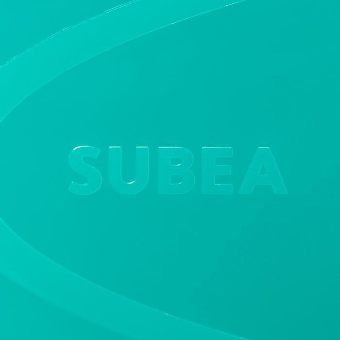 Palmes de snorkeling SNK 520 adulte bleues vertes