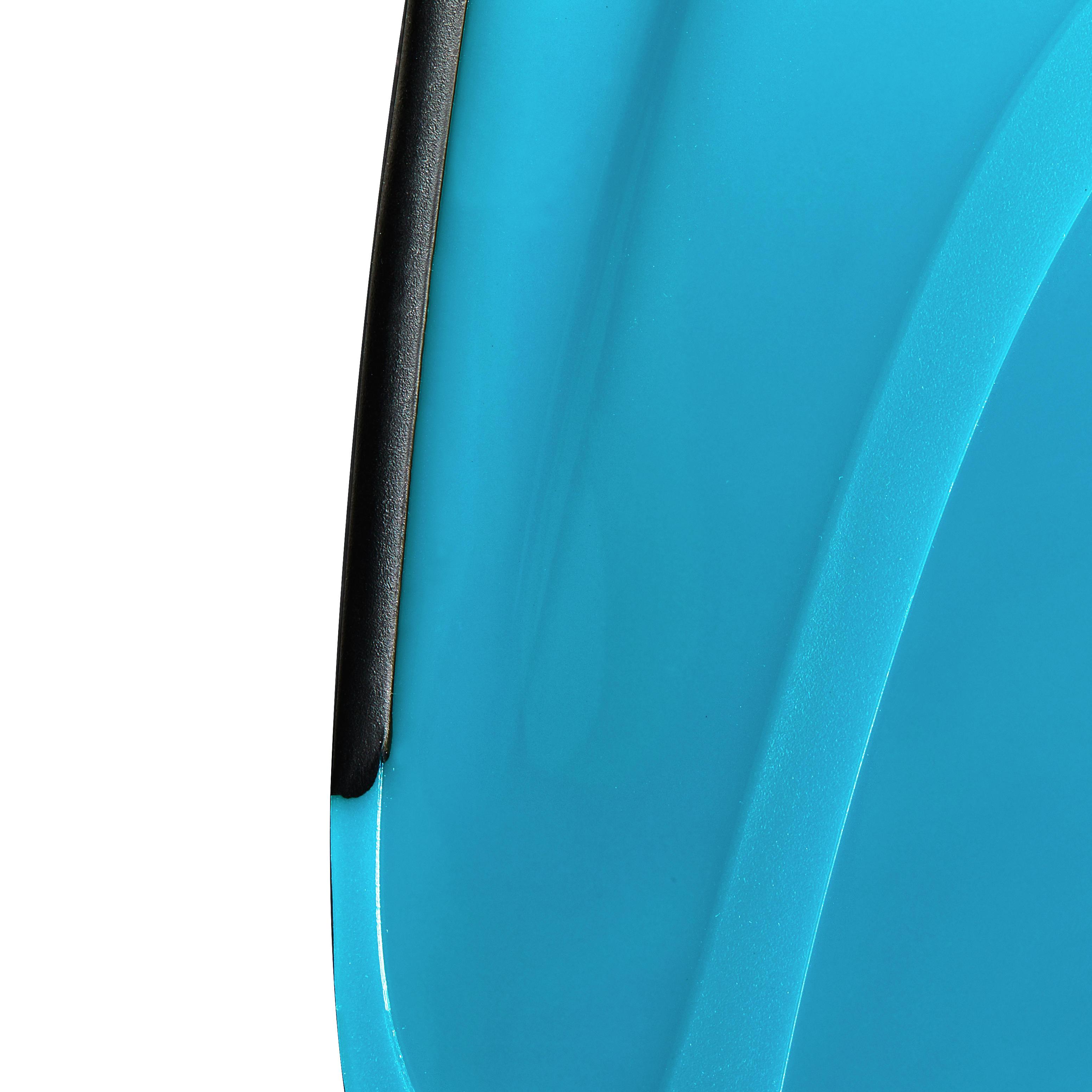 Palmes de plongée libre SNK 520 adulte noires turquoises