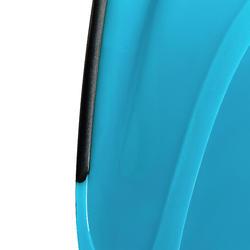Palmes de plongée avec tuba SNK 520 adulte noires turquoises