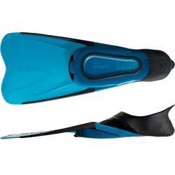 Schnorchelflossen SNK 500 Erwachsene schwarz/blau