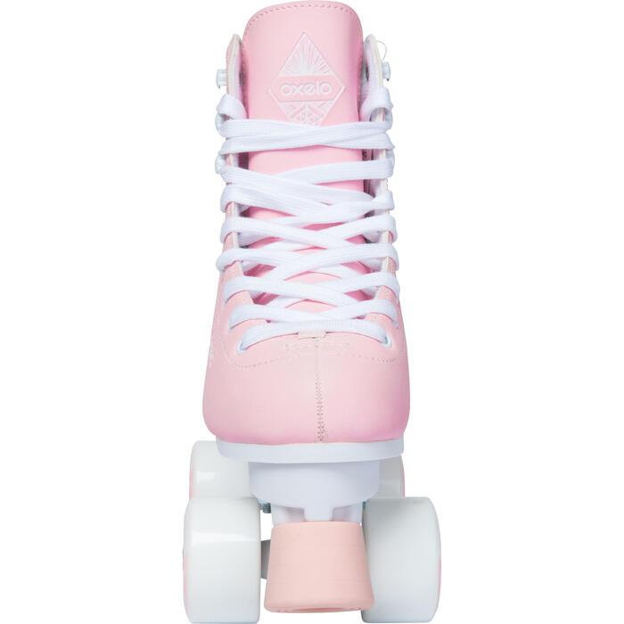 Rolschaatsen voor kunstrijden QUAD 100 roze